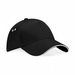 Casquette brodée - Black/Light Grey