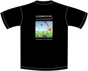Dos du tee-shirt 2012