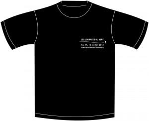 Face avant du tee-shirt 2012